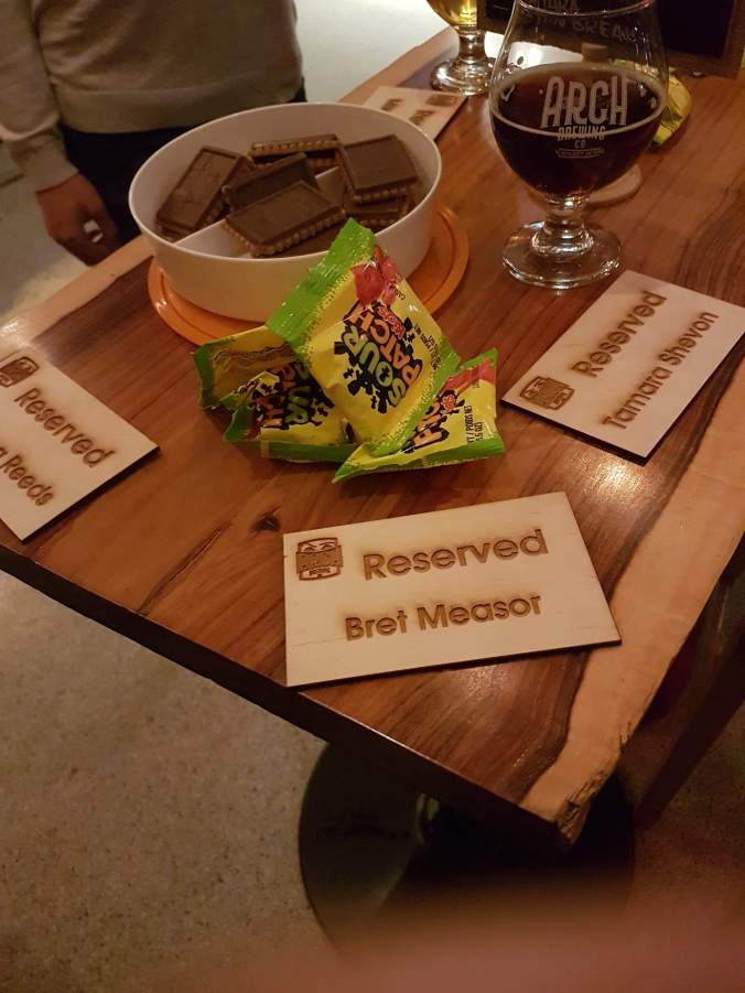 reserved at Arch Brewing Co. Newmarket