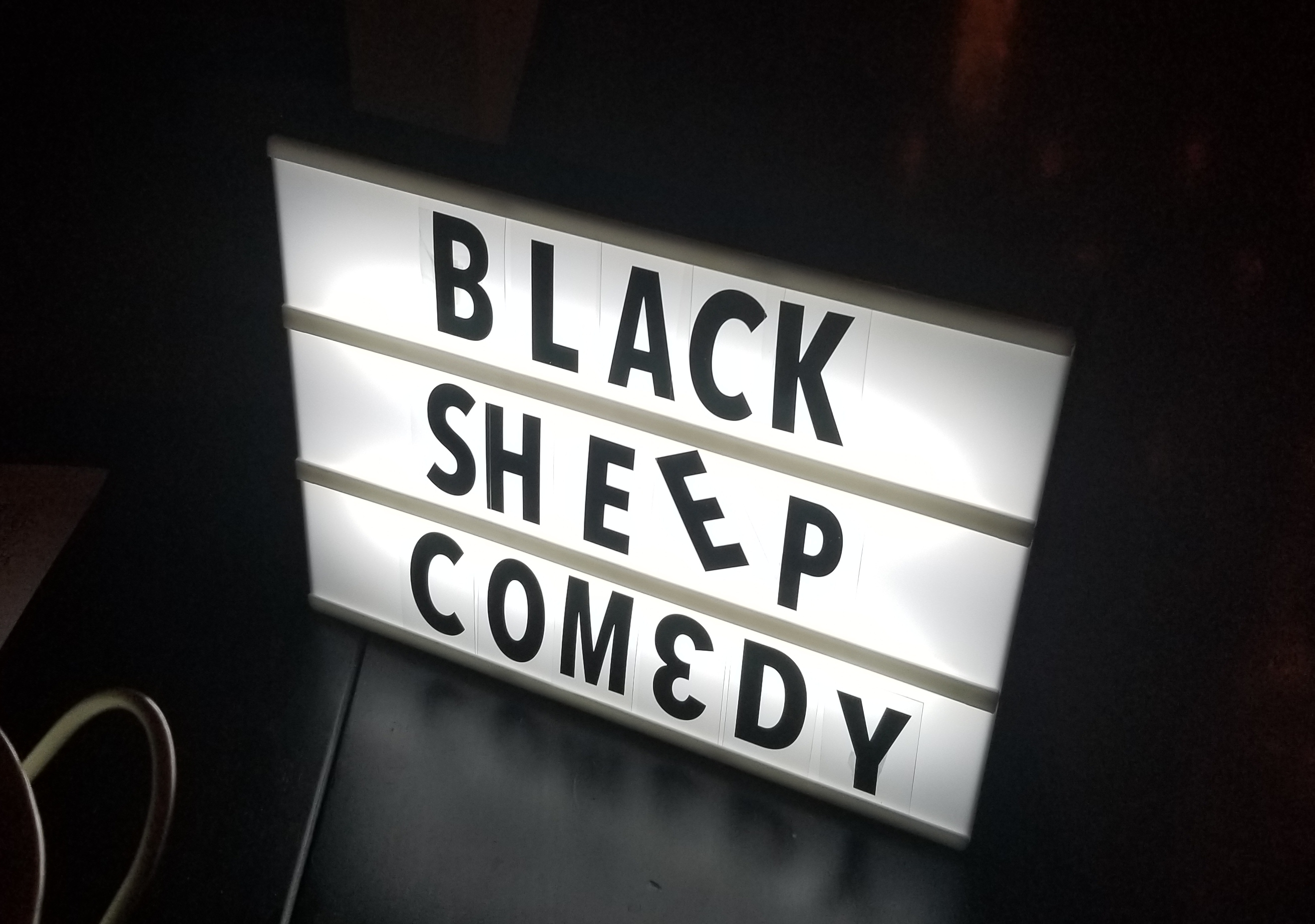 Black Sheep Comedy is Lit
