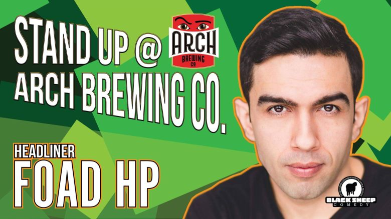 Black Sheep Comedy's Stand Up @ Arch Brewing Co. in Newmarket, Ontario