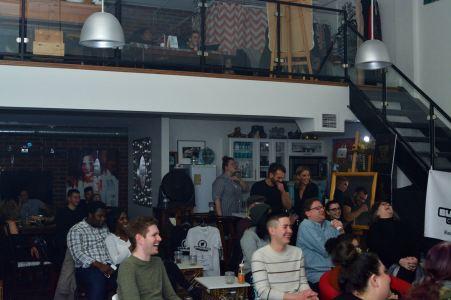 Black Sheep Comedy Crowd