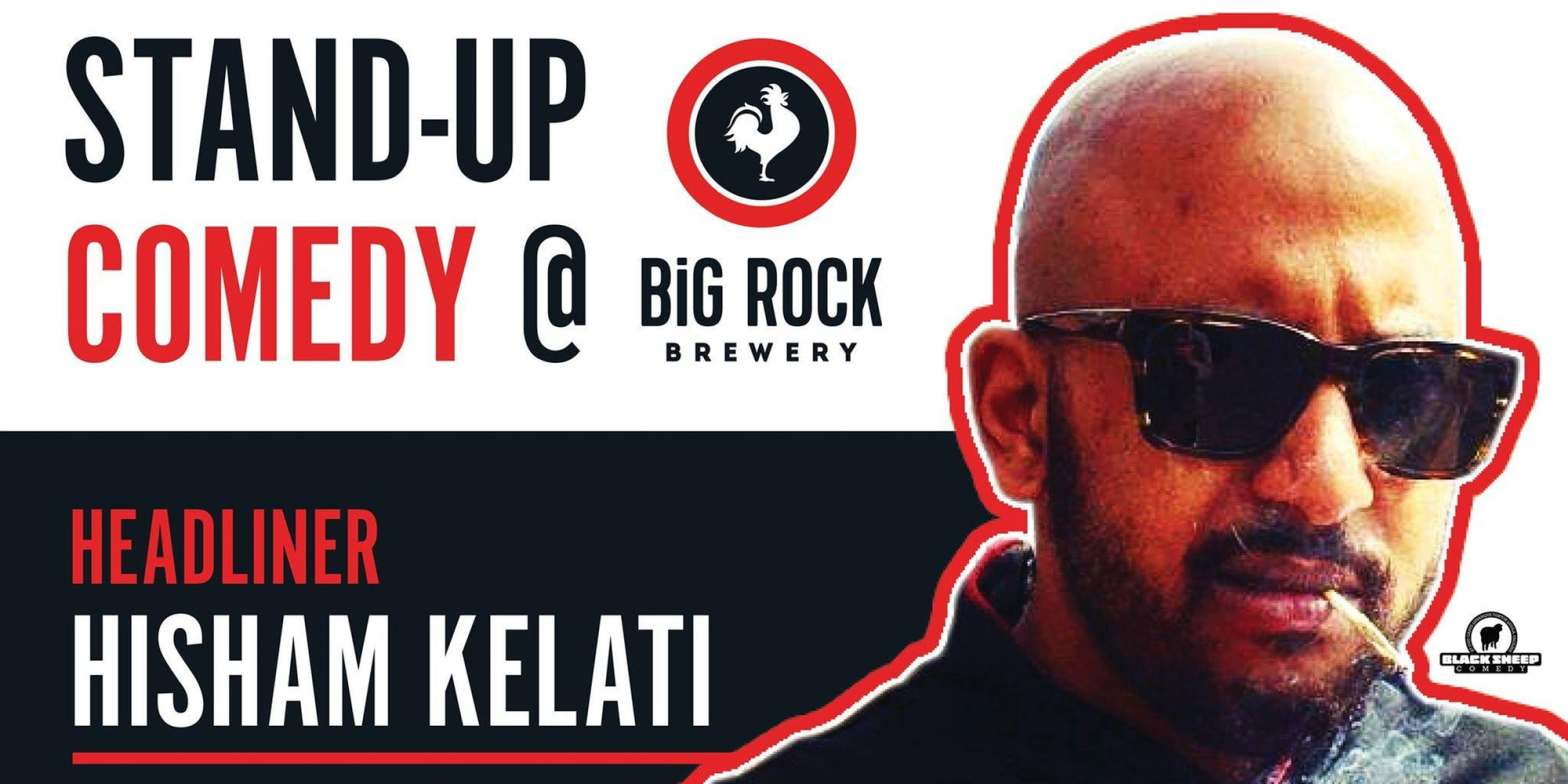 Stand Up Comedy Event at Big Rock Brewery Etobicoke