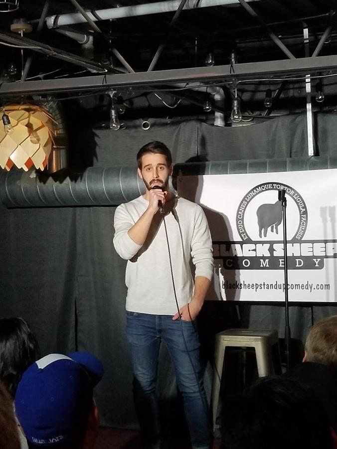 Jesse Ralph Newmarket Comedian