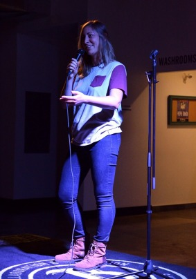 clare belford stand up comic