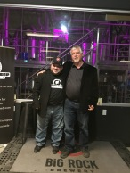 Glen Foster with Fan at Black Sheep Comedy