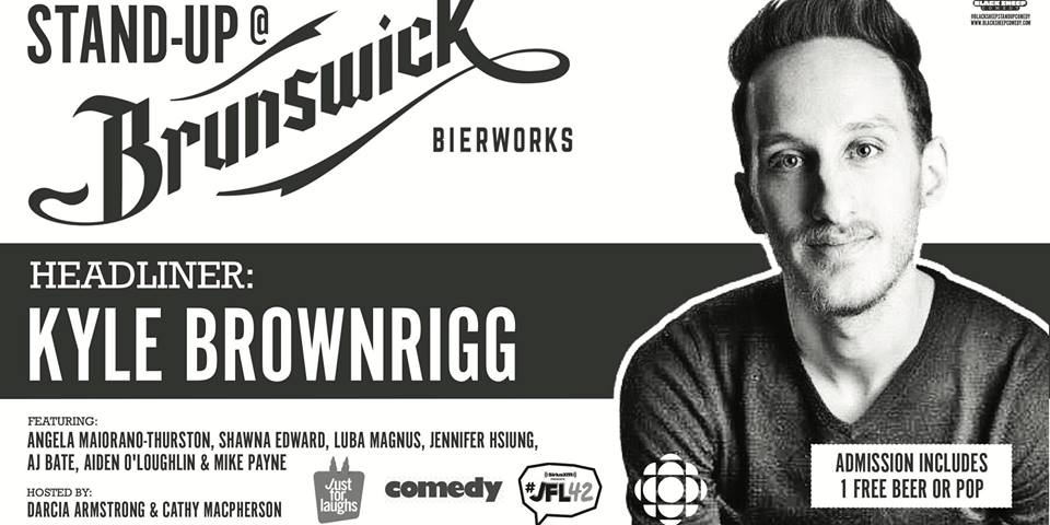 Black Sheep Comedy's Stand Up @ Brunswick Bierworks, May Edition
