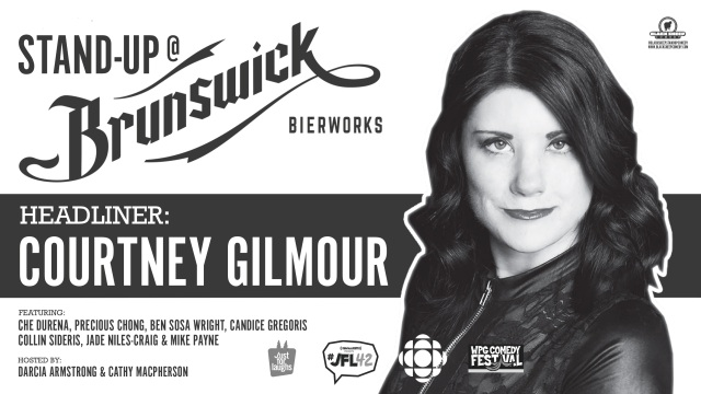 Black Sheep Comedy's Stand Up @ Brunswick Bierworks, June Edition Courtney Gilmour