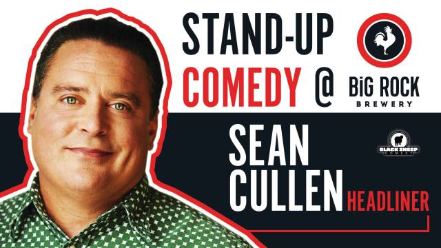 Black Sheep Comedy Stand Up @ Big Rock Brewery Etobicoke Sean Cullen