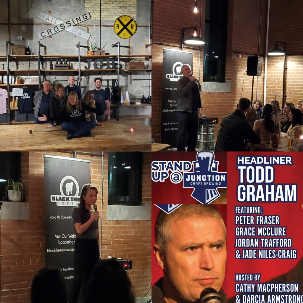 Black Sheep Comedy @ Junction Craft Brewing with HL Todd Graham
